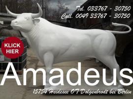 Foto 4 echt jetzt du willst dir wirklich einen deko stier lebensgroß kaufen ????????