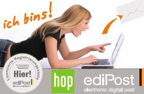 ediPost - so einfach wie eine E-Mail und so sicher wie ein Brief