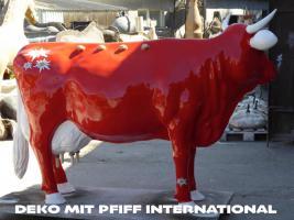 Foto 4 eine deko melk kuh kann auf reise gehen zu dir ???