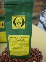 Foto 3 einheimische getrocknete Haselnüsse vom Paradiesplatz