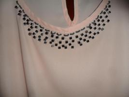 Foto 2 eleganteSexy Bluse  mit Pailetten  Gr 40/42