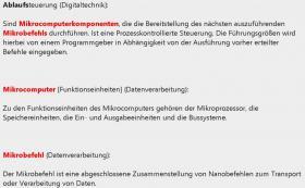 Foto 4 erklaerte Mechatronik-Stichwoerter in deutsch + deutsch-englisch Uebersetzungen