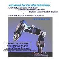 Foto 6 erklaerte Mechatronik-Stichwoerter in deutsch + deutsch-englisch Uebersetzungen