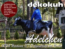 es ist so einfach sich die 19 % Deutsche MwSt. beim Kauf einer Deko Kuh lebensgroß zu sparen ...