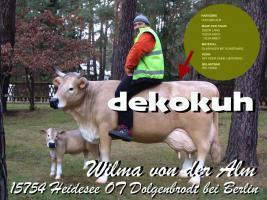 Foto 3 es ist so einfach sich die 19 % Deutsche MwSt. beim Kauf einer Deko Kuh lebensgroß zu sparen ...