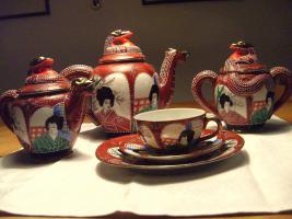 exklusives japanische Teeservice