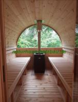Foto 4 fasssauna, sauna pod, saunafass, fass sauna, saunapod, gartensauna, sauna