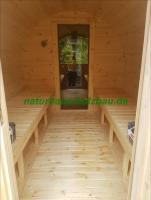 Foto 5 fasssauna, sauna pod, saunafass, fass sauna, saunapod, gartensauna, sauna