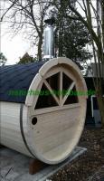 Foto 10 fasssauna, sauna pod, saunafass, fass sauna, saunapod, gartensauna, sauna