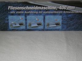 Foto 3 fliesenschneidmaschine für laien bis 400 mm schneiden