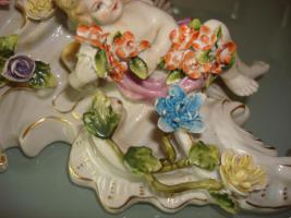 Foto 2 florentiener wandkonsole - Porzellankonsole
