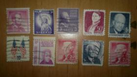 ganze sammlung von briefmarken aus aller welt.