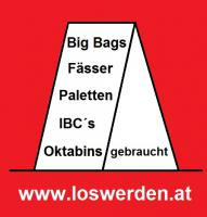 Bags, Fässer, IBC Tanks, Paletten, Oktabins gesucht