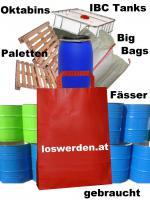 Suchen Gebrauchte Big Bags, Fässer, Paletten, Oktabins Und IBC Tanks