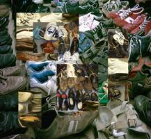 Schuhe Used Shoes, Used Clothing Sorted And Original Benutzte Schuhe,