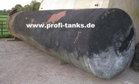 gebrauchter ca. 16 m³ / 16.000 Liter Stahltank als Erdtank sehr preisgünstig zu verkaufen - guter Zustand