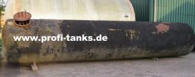 Foto 2 gebrauchter ca. 16 m³ / 16.000 Liter Stahltank als Erdtank sehr preisgünstig zu verkaufen - guter Zustand