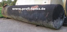 Foto 3 gebrauchter ca. 16 m³ / 16.000 Liter Stahltank als Erdtank sehr preisgünstig zu verkaufen - guter Zustand