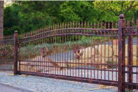 geschmiedete Geländer und Zäune, Doppelstabmatten aus Polen, Zaune