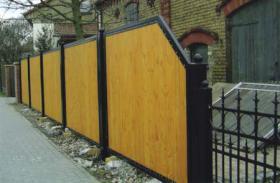 Foto 5 geschmiedete Geländer und Zäune, Doppelstabmatten aus Polen, Zaune