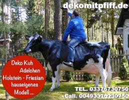 hast du dich schon mal gefrag ob ne holstein friesian deko Kuh als geschenk passen würde ...