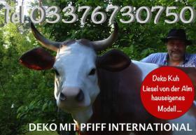 Foto 2 hast du dich schon mal gefrag ob ne holstein friesian deko Kuh als geschenk passen würde ...