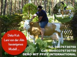 Foto 3 hast du dich schon mal gefrag ob ne holstein friesian deko Kuh als geschenk passen würde ...