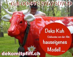 Foto 4 hast du dich schon mal gefrag ob ne holstein friesian deko Kuh als geschenk passen würde ...