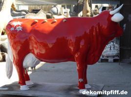 Foto 3 hast du schon mal milch gemolken ? so richtig aus deinen deko Melk Kuh lebensgross …?