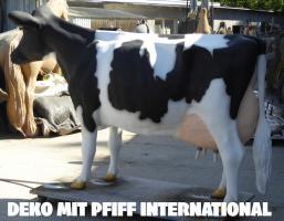 Foto 6 hast du schon mal milch gemolken ? so richtig aus deinen deko Melk Kuh lebensgross …?