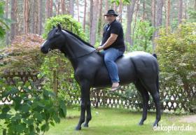 Foto 4 horse deko zum aufsitzen …..