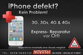 iPhone 4/4S Display*Glas Reparatur*Austausch Bonn EXPRESS 20MIN!