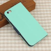 iPhone 6 Plus Hülle Handytasche Case Etui Dunkelblau und Hellblau