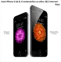 iPhone 6 Vorverkaufsstart bei 1&1 von Apples Smartphone Riesenansturm vorbestellen ab 0, - EUR