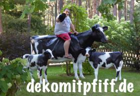# icke koff mir ne holstein friesian deko kuh ...