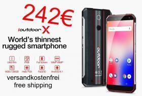 ioutdoor x Smartphone 4G 6/128GB 4G 242€ frei Haus