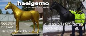 is schon cool ein solches Deko Pferd ... zu haben oder dich ne deko kuh zum aufsitzen ???