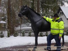 Foto 3 jaaaaa so ein Deko Pferd lebensgroß - Modell  könnte auch in Deinen Garten stehen ...