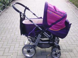 kombi kinderwagen origon 6 mit regenverdeck gebraucht aber in ein guten zustand sehe foto
