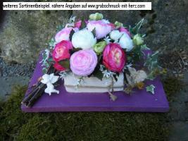 Foto 3 künstlicher Grabschmuck in wunderschönen Varianten