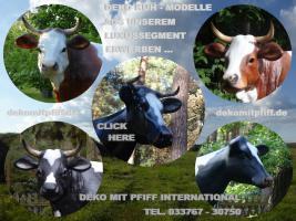 Foto 3 kuh cow als deko in kitzbühel ...