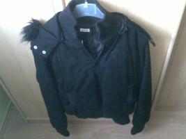 kurze Jacke Schwarz größe L