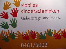 mobiles Kinderschminken in Flensburg