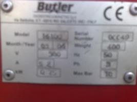 Foto 4 montiermaschine reifenmontiermaschine montiergeraet BUTLER HOFMANN