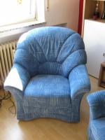 Foto 3 neuwertiges 2er Sofa mit Sessel