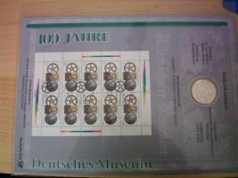 Foto 7 numisblätter mit münzen
