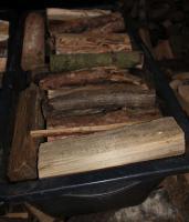 ofenfertiges trockenes Brennholz; 20-25cm Länge gemischt pro 65dm³