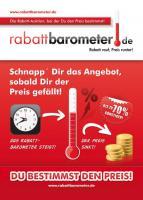 rabattbarometer.de | Rabatt rauf, Preis runter! - Rabatt, Rabatte, Rabatt Aktion, Rabatt Angebot, billig kaufen, Schnäppchen, Sonderangebot, Gutschein