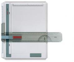 rotring profil Zeichenplatte A4 mit klemm Lineal