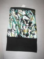 schickes Top / Minikleid Tally Weijl Gr. 38/40 schwarz/grün  NEU + UNGETRAGEN